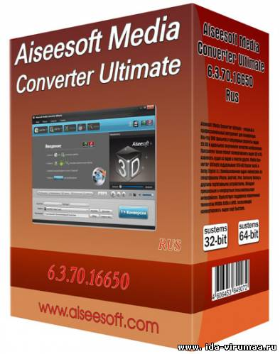 Aiseesoft Media Converter Ultimate 6.3.70.16650 + Rus