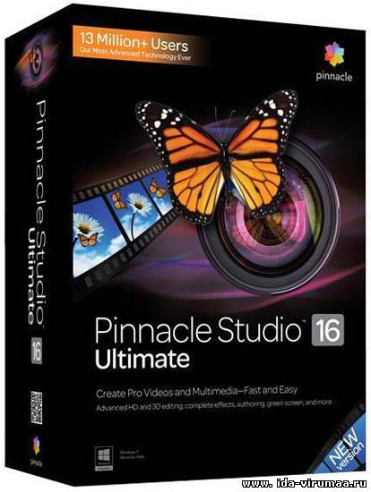 Pinnacle Studio 16 Ultimate v 16.1.0.115 Final ML/Rus + Content