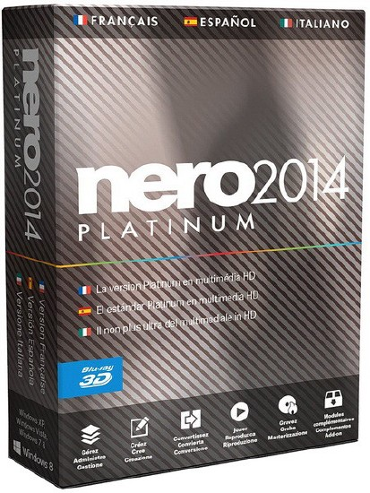 Nero 2014 Platinum 15.0.07100 Final + Content Packs (ML|RUS)